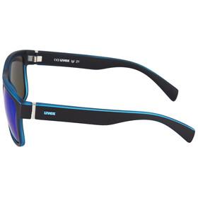 UVEX lgl 21 - Lunettes cyclisme - bleu/noir